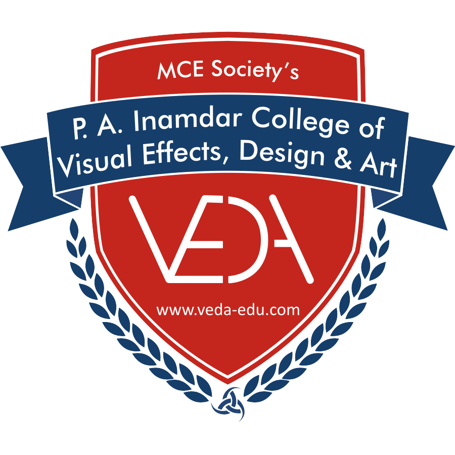 Logos of VEDA college, Pune | The Visual Effects and Art